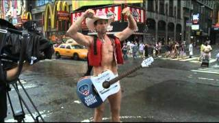 Raw Video: Times Square Braces for Irene