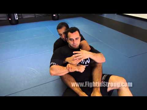 BJJ Armbar from Back Mount - Switching Drill