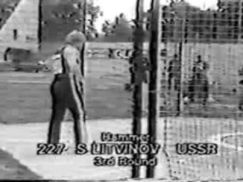 Sergey Litvinov Hammer Throw Crystal Palace London 1984