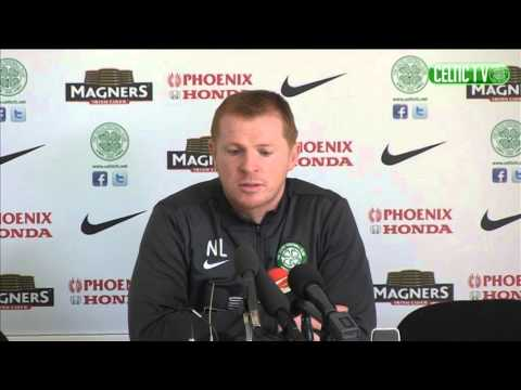 Celtic FC - Neil Lennon pre-match media conference
