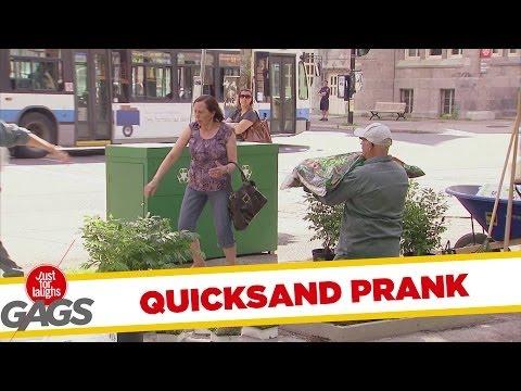 Quicksand Gardner Prank