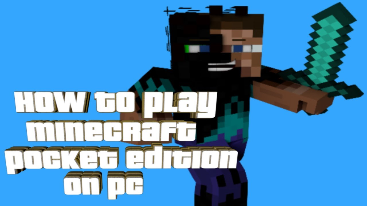 Minecraft Games To Play On The Computer : How to play minecraft pocket edition on pc youtube