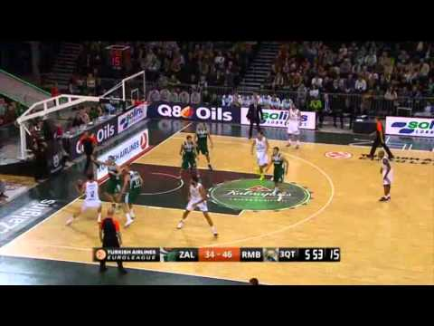 Euroleague 2013/14 : Zalgiris 63-83 Real Madrid