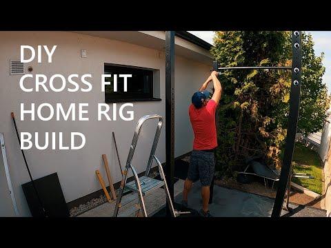 CrossFit Rack/Gym Home Build - DIY TIMELAPSE