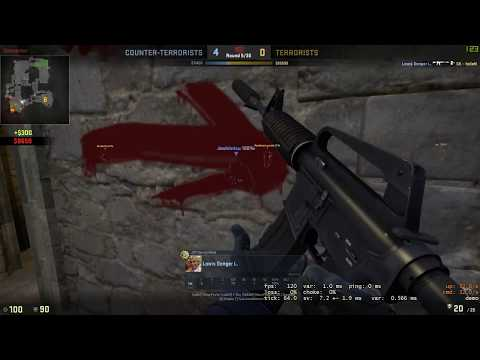 CS:GO Matchmaking Highlight #4 Ace on de_cbble, again LUL