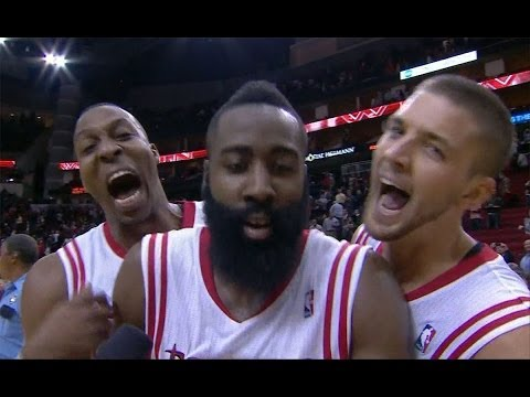 Crazy finish! James Harden hits game-winner vs. Wizards