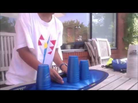 Sport Stacking Top 10 Overall Stacker of Denmark (ON TAPE)