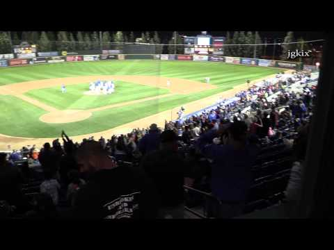 9th inning WIN for Rancho Cucamonga Quakes Baseball