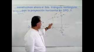 Geometría Descriptiva - Rectas en el espacio