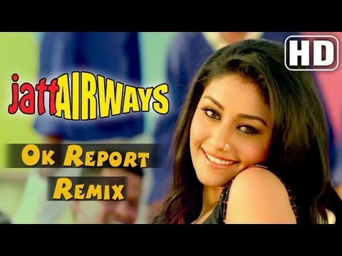 Ok Report Remix - Jatt Airways - Mahek Chahal , Alfaaz , Padam