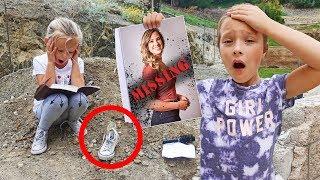 Natalia is MISSING! Exploring Attic & Underground For Hidden CLUES!