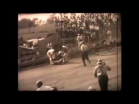 Vic Nauman's insane Crash at Williams Grove 1941 Vintage Sprint Cars