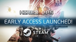 Hired Ops - Early Access Launch Trailer