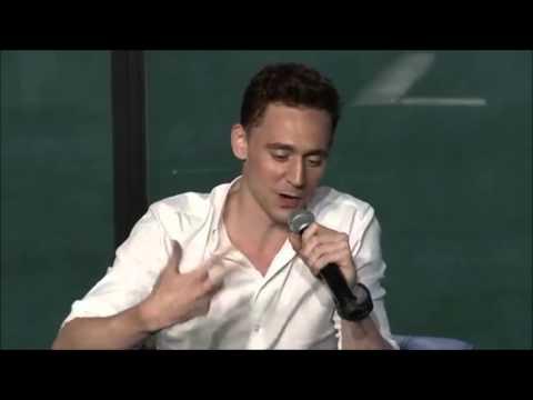 Tom Hiddleston´s impression of Chris Evans