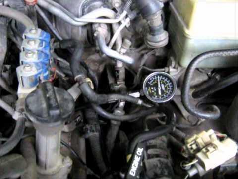 Замер компрессии двигателя 2UZ-FE