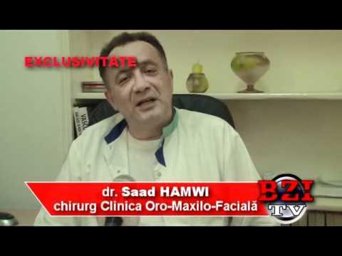 Medicul Saad Hamwi opereaza cancer oro-maxilo-facial la Iasi
