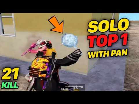 OPPA JYL SOLO TOP 1 - 21 KILL | BEST PAN FUNNY MOMENTS
