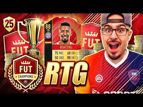 OMG INSANE NUMBER 1 IN THE WORLD BATTLE!! FIFA 18 Road To Fut Champions! Ultimate Team #25 RTG