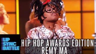 Remy Ma Is Full On Busta Rhyming | Lip Sync Battle: Hip Hop Awards Edition
