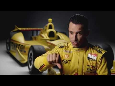 Pennzoil Ultra Platinum Synthetic Oil Powers Helio Castroneves