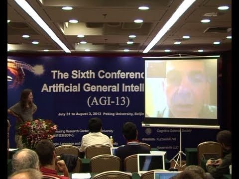 AGI-13 David Hanson and Ben Goertzel - Anthroid (Human-Like) Robots for AGI and Telepresence