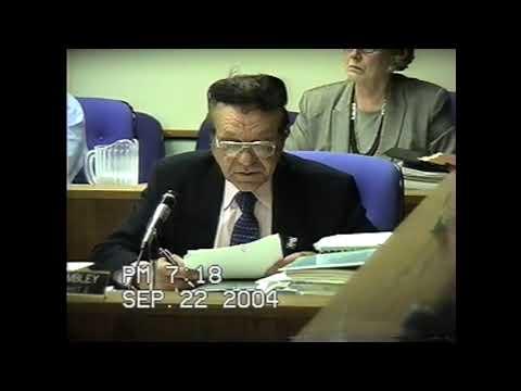 Clinton County Board Meeting 9-22-04