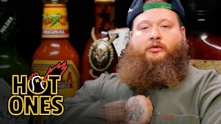 Action Bronson Blows His High Eating Spicy Wings   Hot Ones