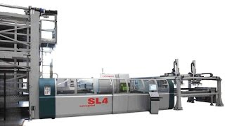 Combined punching and fiber laser cutting machines SALVAGNINISL4