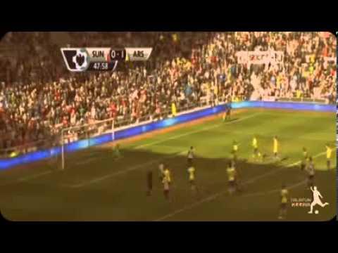 Arsenal vs Sunderland 3 1 2013) Match Extended Highlights & Goals   EPL 14 9 2013   YouTube
