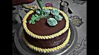 Menghias Kue Ulang Tahun Mawar
