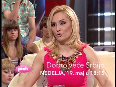 PROMO Dobro vee Srbijo - Goca Tran // TV Pink