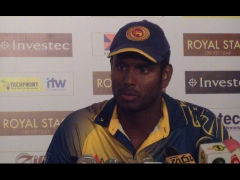 Angelo Mathews Post Match Press Conference - 3rd ODI at MRICS