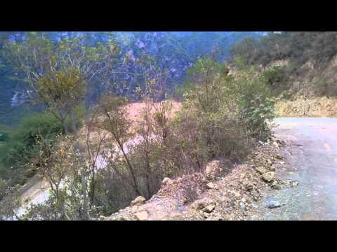 a 2 km de las Grutas de Tolantongo en Hidalgo