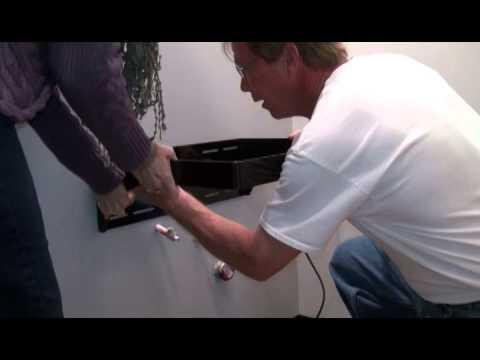 Maidan Floating Vanity Bracket Installation Youtube