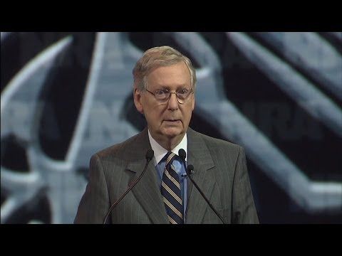 2014 NRA Annual Meetings: Mitch McConnell