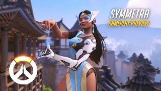 Overwatch: Symmetra Gameplay Preview