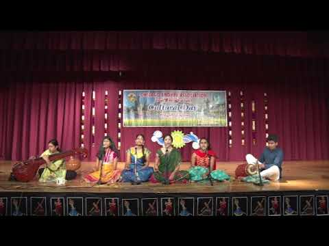 "CAA - 2017 AP Cultural Festival - Oct 14th 2017 - Item-21 ""Mamavatu Sri Saraswati Keerthana"""