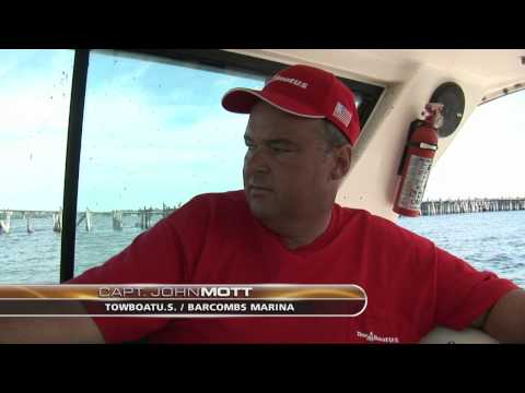 TowBoatU.S. Captain John Mott on Lake Champlain