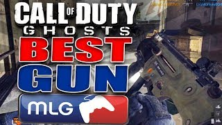 Call Of Duty Ghosts Best Gun Based On Professional Player