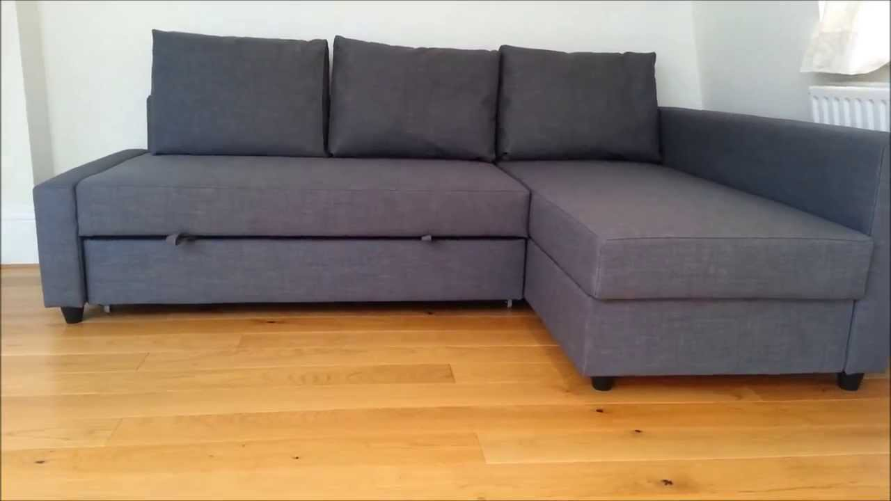 Ikea Bett Quietscht Was Tun ~ IKEA Sofa Bed  YouTube
