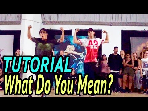 WHAT DO YOU MEAN - Justin Bieber Dance TUTORIAL | @MattSteffanina Choreography (Adv Hip Hop)