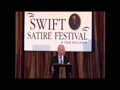 The Inaugural Swift lecture by President Michael D. Higgins