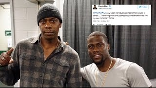 Kevin Hart Responds To Dave Chappelle's Bit About Him In New Netflix Special. LOL | JTNES