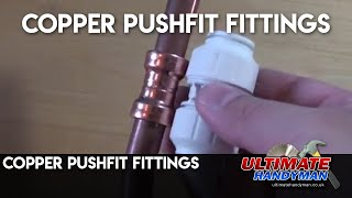 copper pushfit fittings | cuprofit