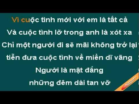 Noi Dau Vo Thuong Karaoke - Lam Hung - CaoCuongPro