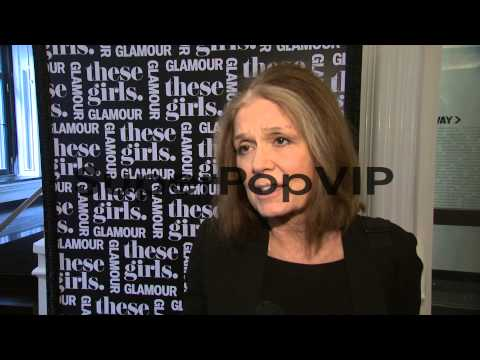 INTERVIEW - Gloria Steinem on being happy to be a the eve...