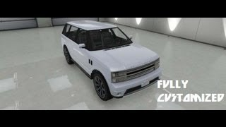 GTA V Fully Customized Gallivanter Baller [RANGE ROVER