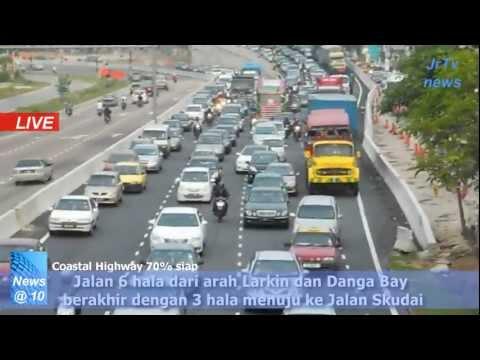 Johor Bahru Iskandar Coastal Highway