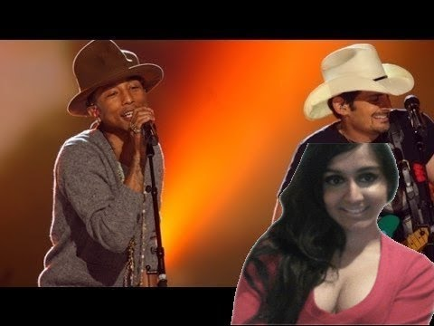 Oscars 2014 : Pharrell Performs