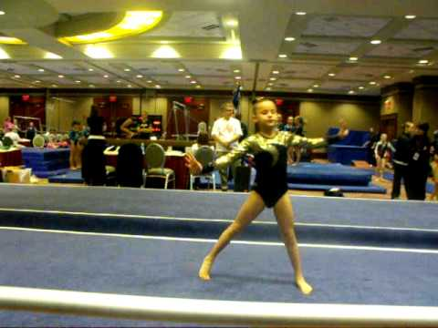Ilodia's floor routine: 22 Jan 2012 in Indianapolis